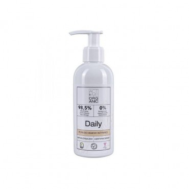 ACTIVE ORGANIC Płyn do higieny intymnej DAILY z pompką 200 ml
