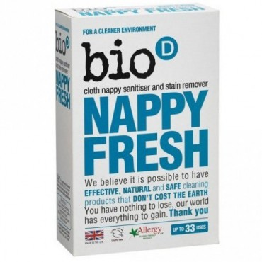 BIO-D Nappy Fresh dodatek do prania pieluch 500g