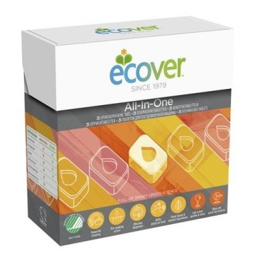 ECOVER Tabletki do zmywarki All-in-one 500g 25 szt