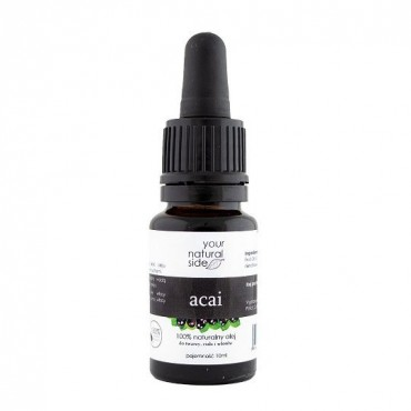 YOUR NATURAL SIDE Olej z ACAI nierafinowany 10ml pipeta