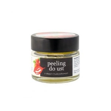 YOUR NATURAL SIDE Peeling do ust z olejem truskawkowym 20ml