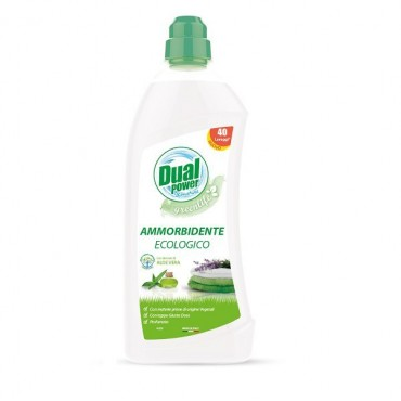 DUAL POWER Eco Płyn do płukania tkanin Aloe Vera 1L