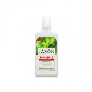 JASON Płyn do płukania jamy ustnej z Ksylitolem Power Smile 473ml