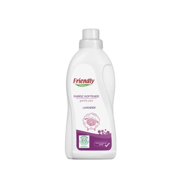 FRIENDLY ORGANIC Płyn do płukania tkanin LAWENDA 750ml